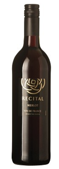 Recital Merlot Vin de France